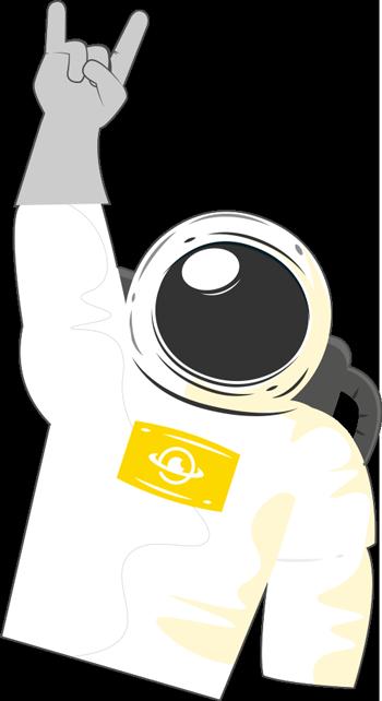 Hubmira - Astronauta