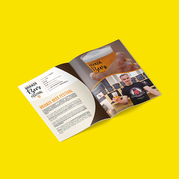 hubmira pane liquido brochure eventi comunicazione birra
