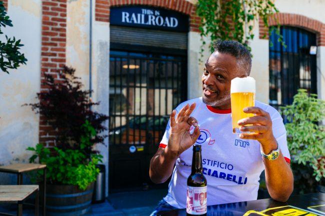 hubmira railroad brewing birrificio seregno aristoteles birra video spot pubblicità