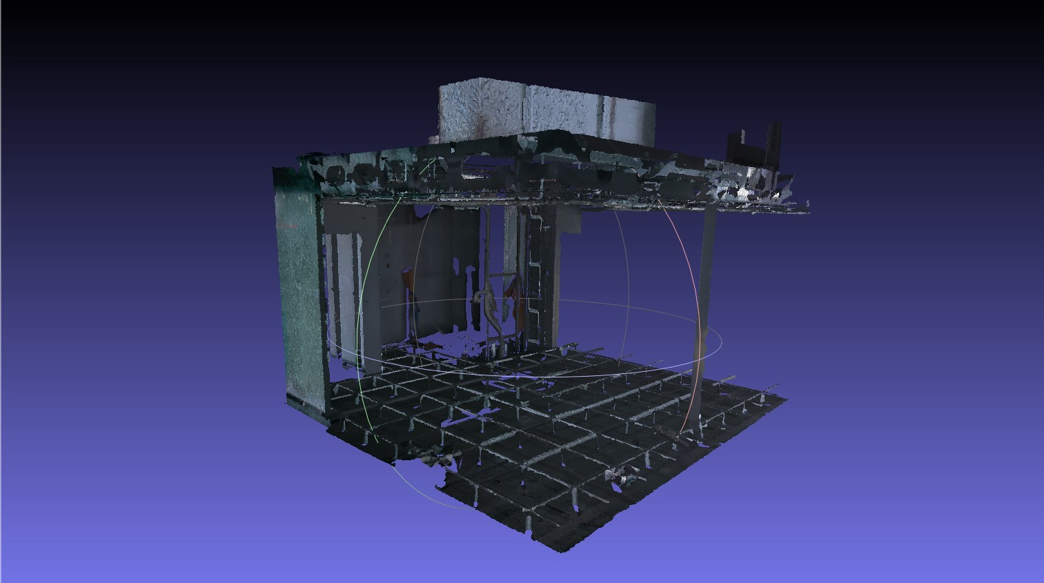 Modello 3D mesh rilievo architettura Hubmira Design