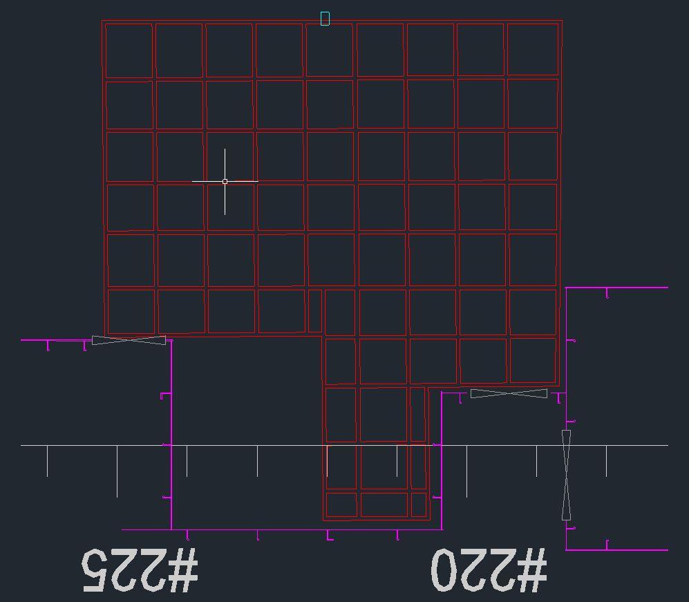 Rilievo disegno CAD modello 3D Hubmira Design