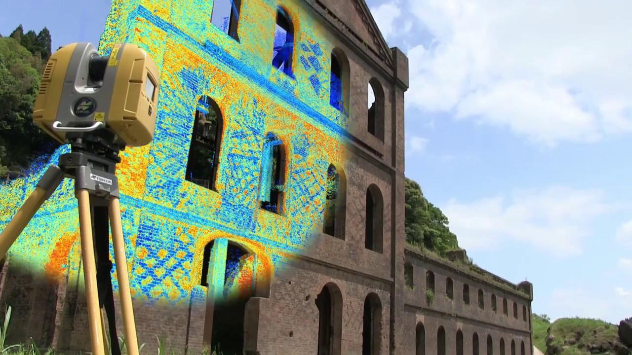 Scanner 3D Architettura nuvola di punti Hubmira Design
