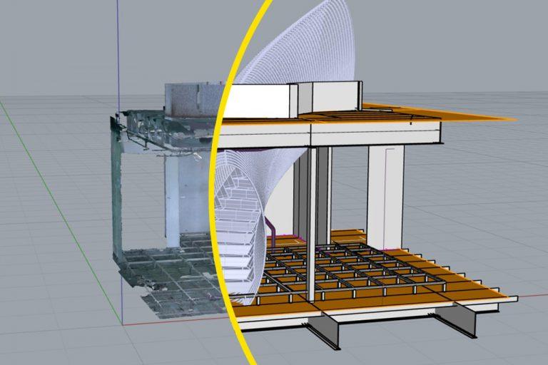 Scansione 3D Modellazione Architettura Hubmira Design